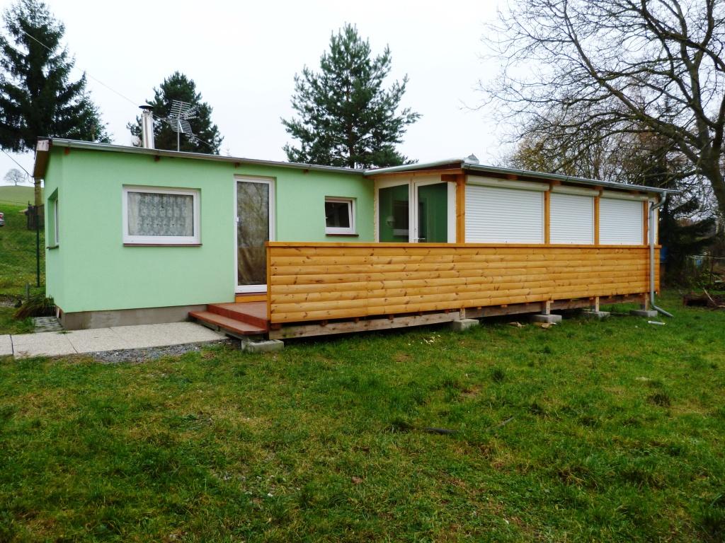 celoroční mobilní domy s verandou