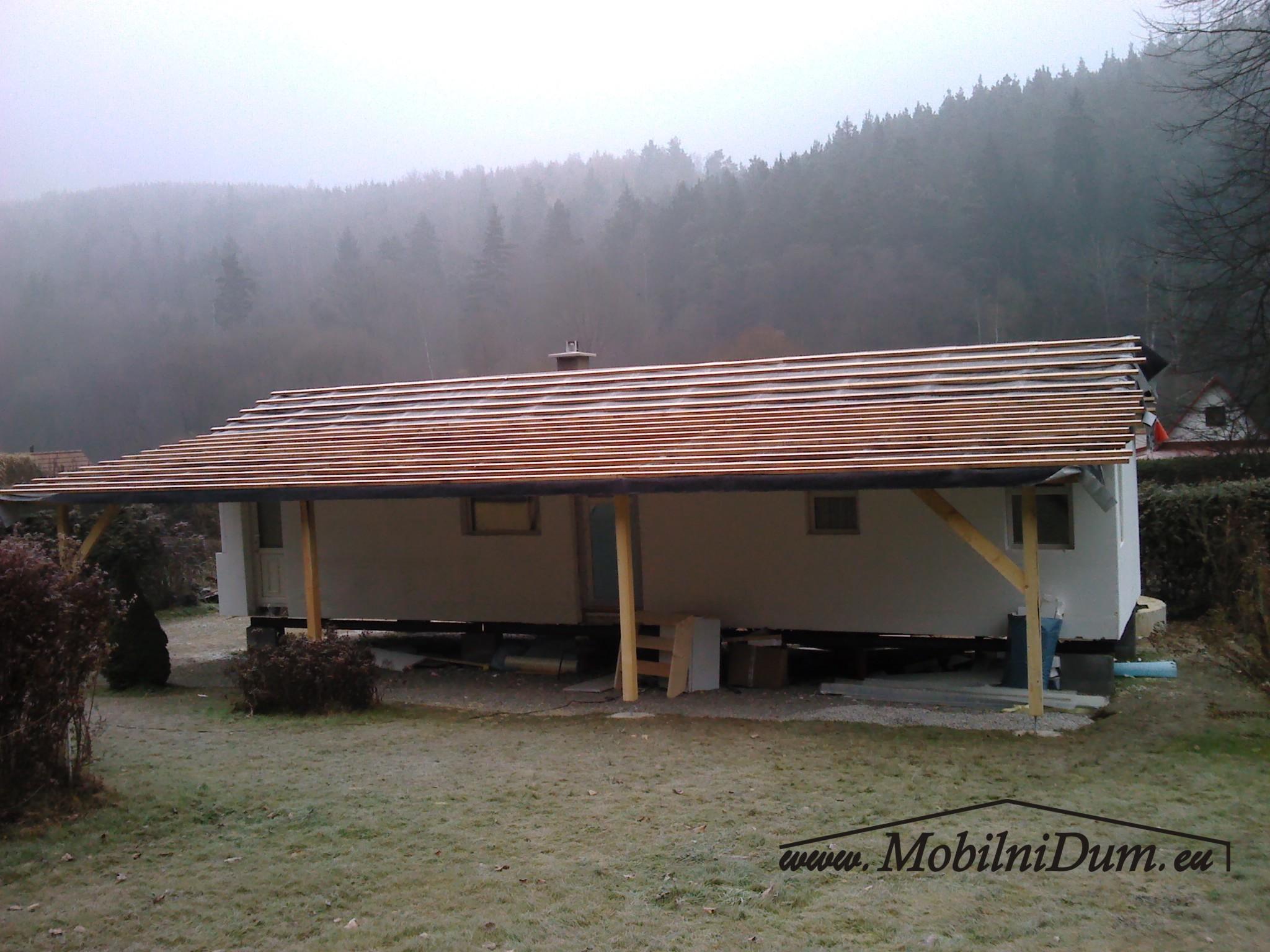 mobilní domy zateplené celoroční