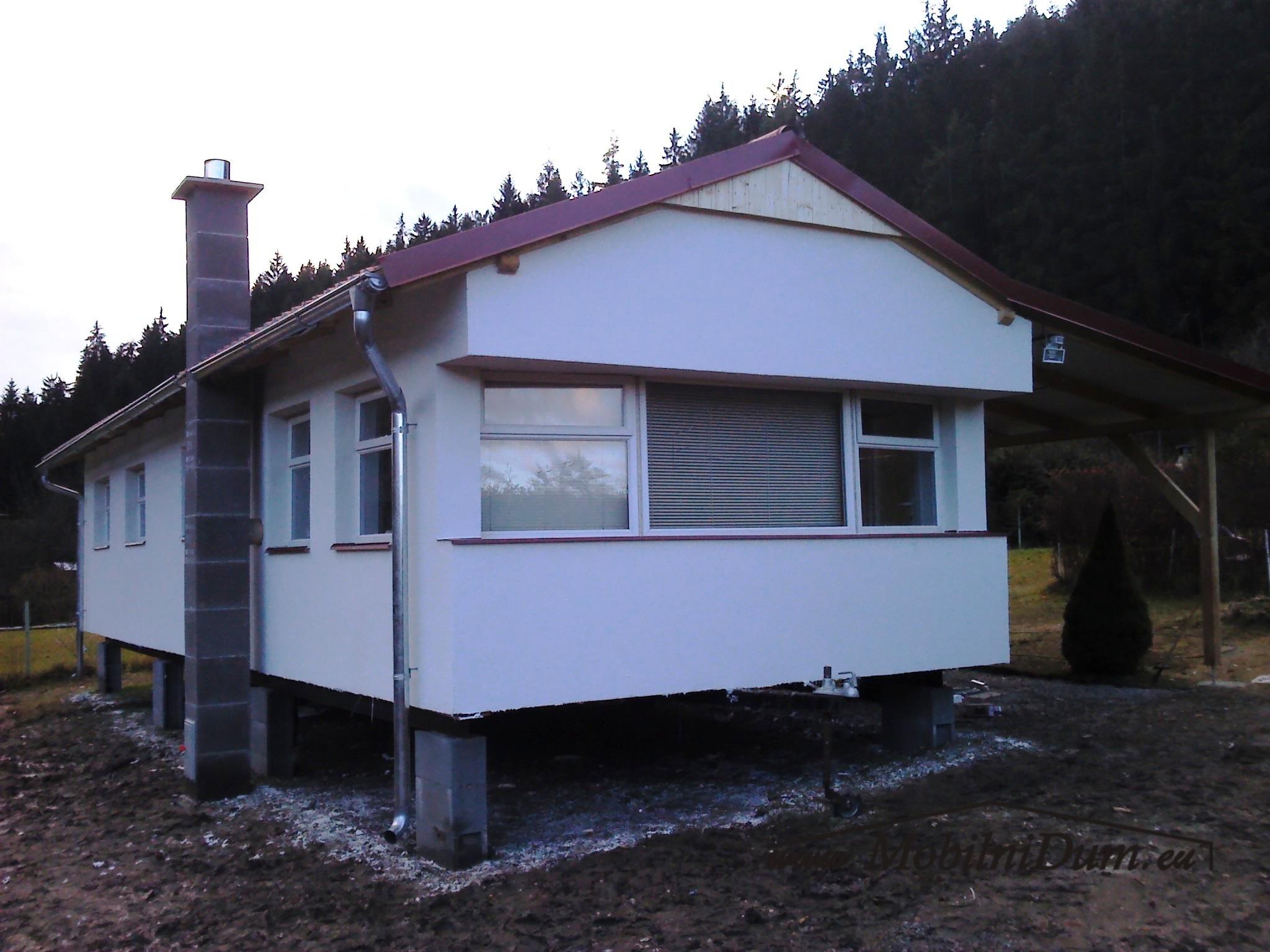 mobilní domy celoroční