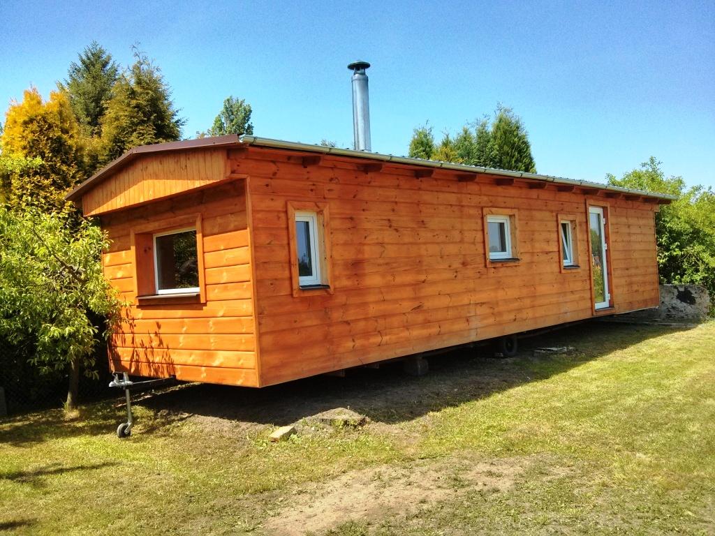 celoroční mobilní domy dřevěné