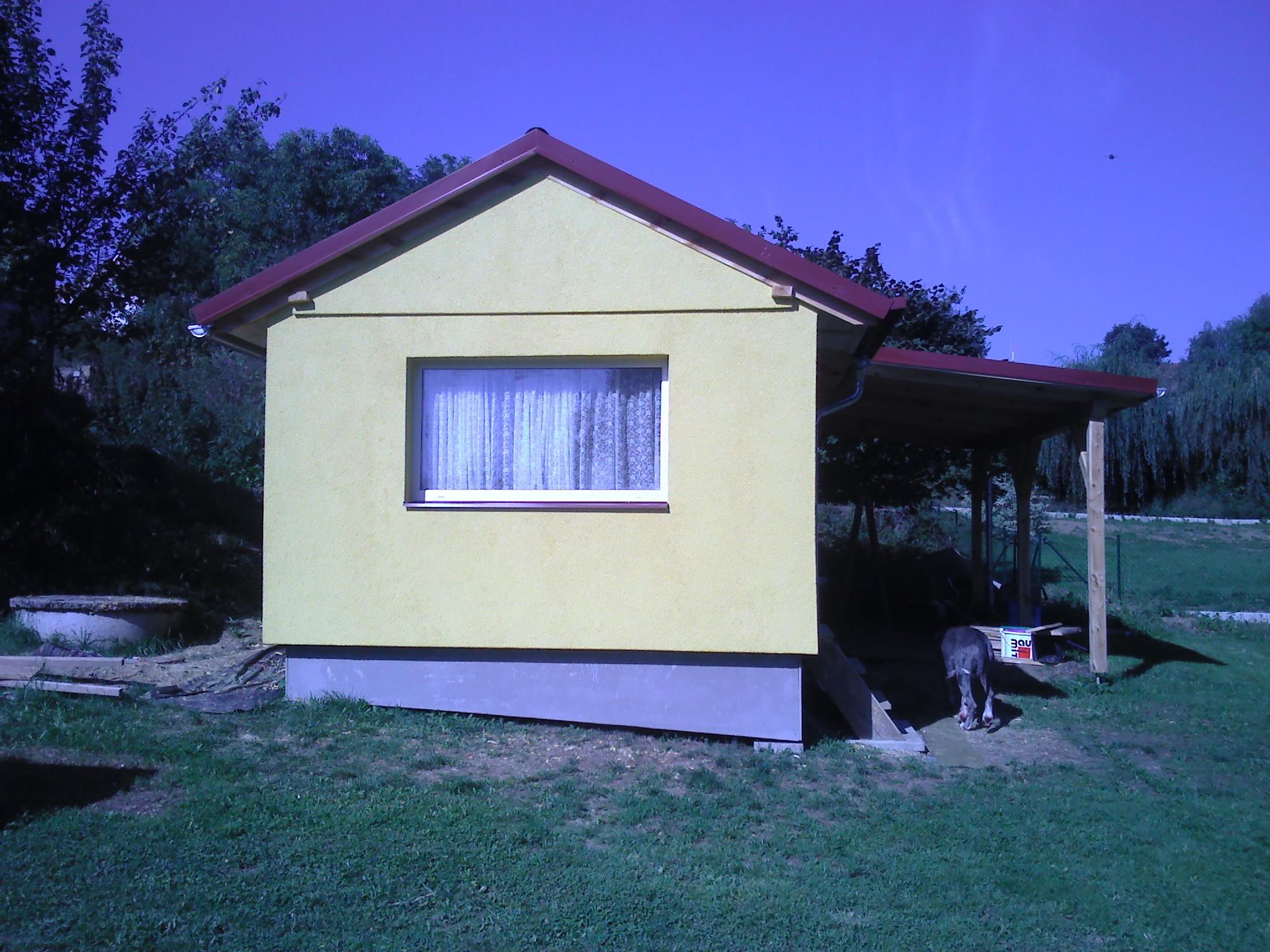 mobilní domy (mobilheimy) celoroční zateplené s vestavěnou pergolou