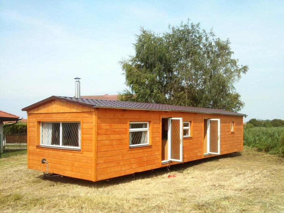 dřevené mobilní domy k trvalému bydlení