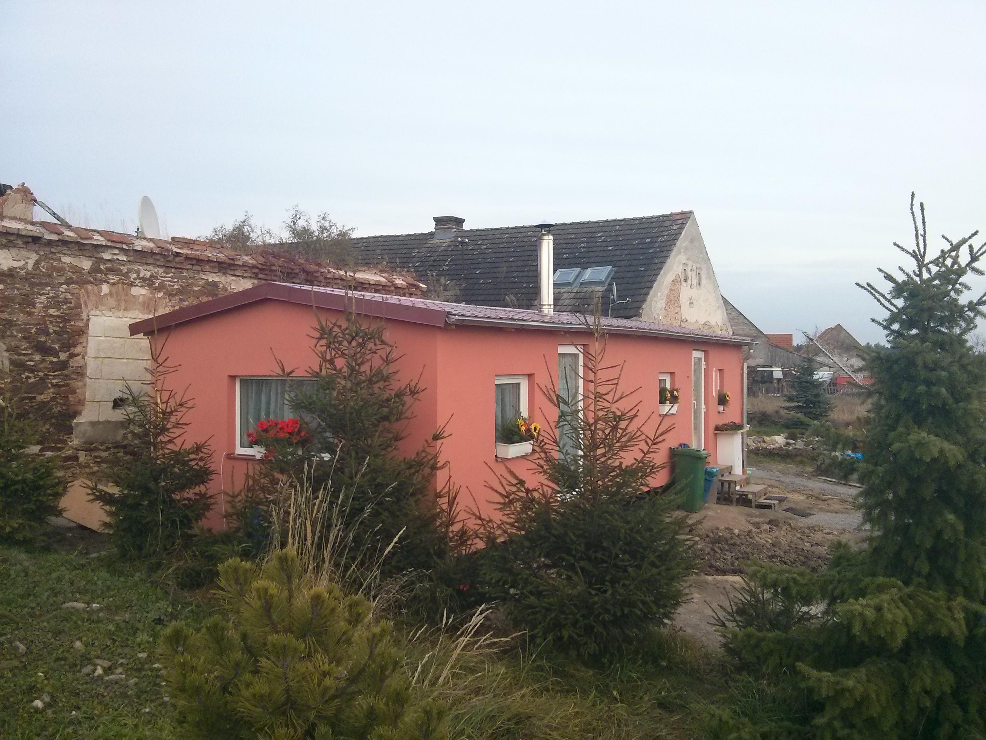 mobilní domy celoroční zateplené s fasádou
