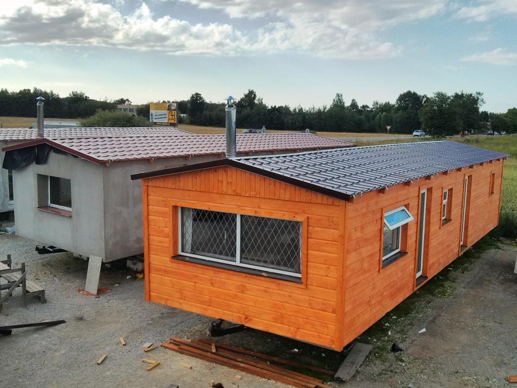 mobilní domy dřevěné k trvalému bydlení